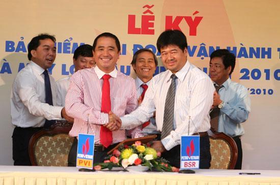 Lễ ký hợp đồng cung cấp bảo hiểm giữa PVI và BRS.