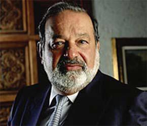 Tổng giá trị các cơ sở kinh doanh của ông Slim nay bằng 50% tổng giá trị 370 tỷ USD của thị trường chứng khoán Mexico.