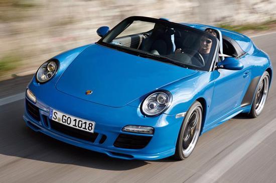 Porsche 911 Speedster với mầu xanh độc quyền - Ảnh: Porsche.