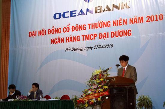 OceanBank đặt kế hoạch tăng tổng tài sản từ hơn 33.000 tỷ đồng lên 39.000 tỷ đồng, tăng vốn điều lệ từ 2.000 tỷ đồng lên 3.500 tỷ đồng trong năm 2010.