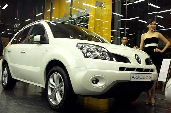 Mẫu xe đa dụng Renault Koleos - Ảnh: Bobi.