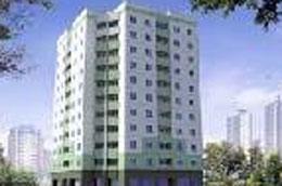 Chung cư 11T1 đã hoàn thiện với 80 căn hộ.
