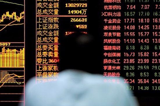 Tại Trung Quốc đại lục, chỉ số Shanghai Composite Index đóng cửa mất 0,6% - Ảnh: AP.