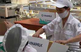 Hàng năm hoạt động xuất khẩu đem về doanh số khoảng 80 triệu USD cho Vinamilk.