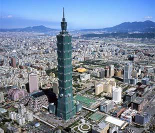 Một góc thành phố Đài Bắc (Đài Loan).