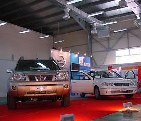 Các thương hiệu xe nhập khẩu cũng không giúp các cuộc triển lãm ôtô trong năm 2007 sáng sủa thêm bao nhiêu - Ảnh: Đức Thọ.