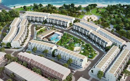 Dự án Lotus Residences - Nhà liền kề nghỉ dưỡng Vạn Liên nằm tại vị trí đẹp của thành phố du lịch Bãi Cháy, Hạ Long, Quảng Ninh.