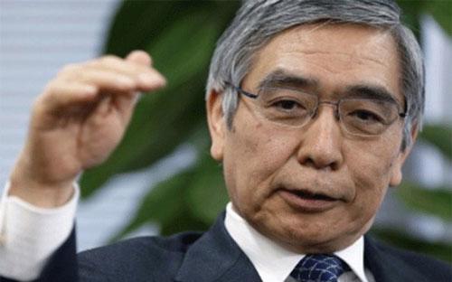 Chủ tịch Ngân hàng Phát triển châu Á (ADB) Haruhiko Kuroda.<br>