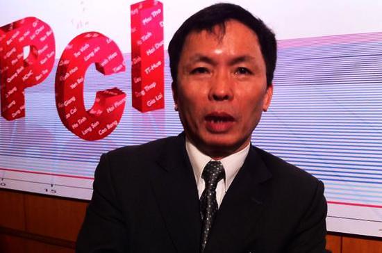 """Ông Trần Hữu Huỳnh: """"Khoảng trên dưới 90% doanh nghiệp trả lời là trước bầu cử chính quyền ít hành động hơn vì cộng đồng doanh nghiệp"""" - Ảnh: Anh Quân."""