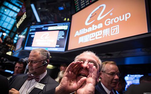Cổ phiếu Alibaba đã tăng tới 87% kể từ đầu năm 2017.<br>