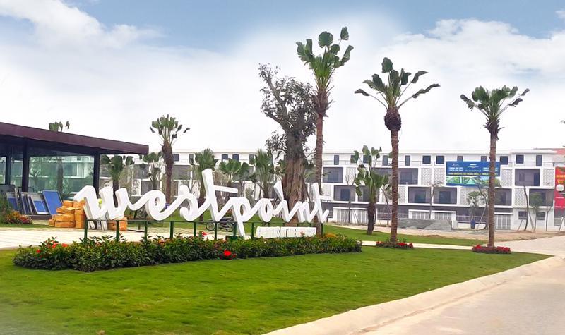 Đất nền tại dự án Westpoint đang được chủ đầu tư công bố chỉ từ 2 tỷ đồng/lô.<br>