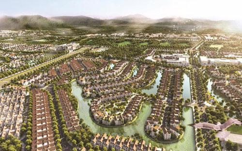 """<div>Vinhomes Riverside được mệnh danh là """"khu đô thị đẳng cấp ven sông đầu tiên ở Việt Nam"""".</div>"""