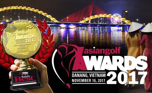 Việt Nam sẽ chính thức nhận được giải thưởng danh giá này trong lễ trao  giải thưởng golf Châu Á năm 2017 được tổ chức tại thành phố Đà Nẵng vào  ngày 16 tháng 11 sắp tới.