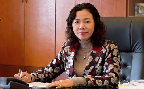 Thứ trưởng Vũ Thị Mai.