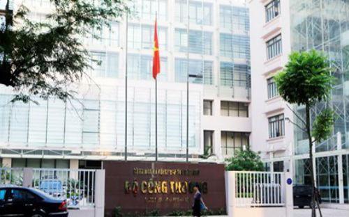 Trụ sở Bộ Công Thương tại Hà Nội.Năm 2017, Bộ đặt mục tiêu bãi bỏ 15 thủ tục hành chính, đơn giản hoá 108 thủ tục trong tổng số 443 thủ tục thuộc phạm vi Bộ quản lý.