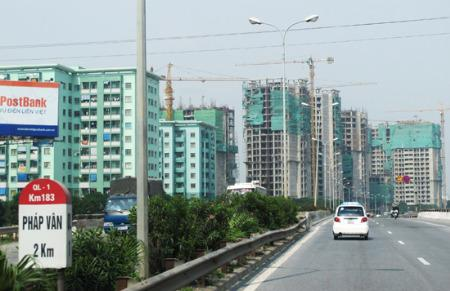 Bất động sản Hà Nội được dự báo sẽ tiếp tục khó khăn trong năm nay.