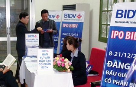 BIDV đã đăng ký niêm yết với số lượng 2,3 cổ phiếu trên HSX.