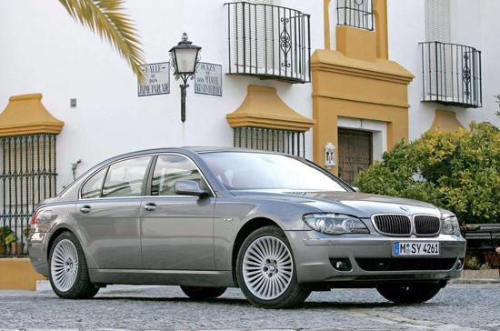 BMW 750Li nằm trong diện thu hồi - Ảnh: NetCarShow.