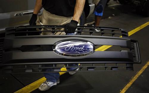 Ford lên kế hoạch giảm 10% nhân sự toàn cầu - Ảnh: Bloomberg.<br>