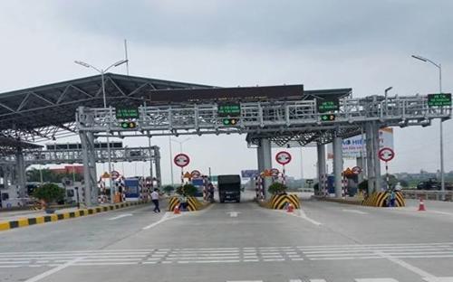 Dự án cao tốc BOT Hà Nội -Bắc Giang được thông xe kỹ thuật từ ngày 3/1/2016.