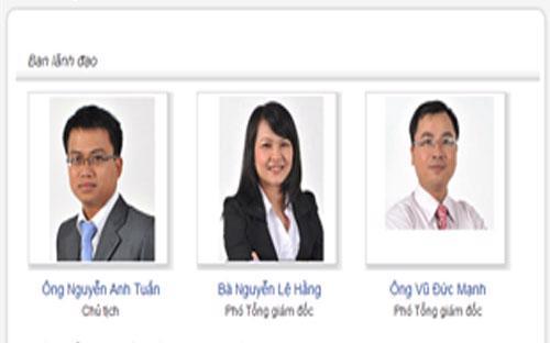 Ban lãnh đạo Công ty TNHH một thành viên Quản lý quỹ Vietinbank.
