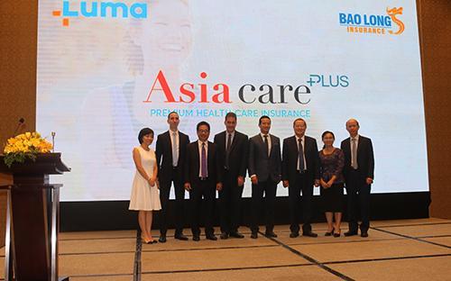 Tổng công ty Cổ phần Bảo hiểm Bảo Long (Bảo Long) vừa cho ra mắt sản  phẩm bảo hiểm sức khỏe cao cấp - Asia Care Plus Vietnam.