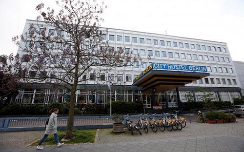 Nhà nghỉ Cityhostel Berlin của đại sứ quán Triều Tiên ở thủ đô Berlin, Đức - Ảnh: Reuters.