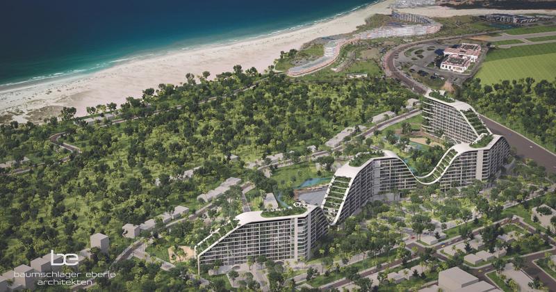 Phối cảnh dự án The Coastal Hill.<br>
