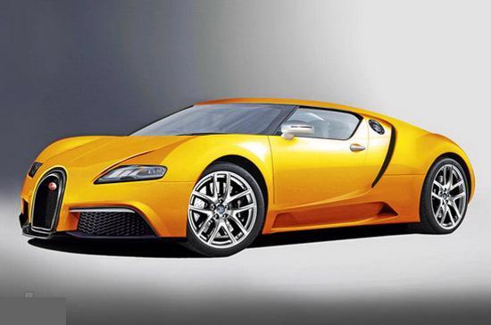 Phác thảo siêu xe động cơ hybrid của Bugatti trong tương lai - Ảnh: Auto Express.