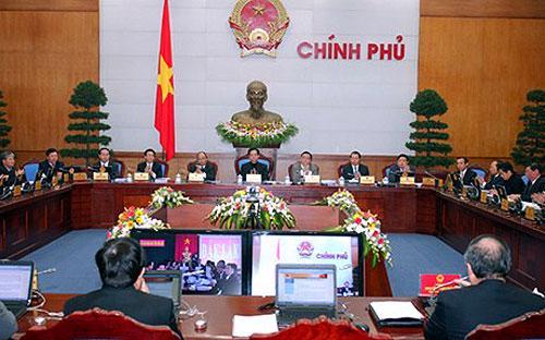 Thủ tướng Nguyễn Tấn Dũng chủ trì phiên họp giữa Chính phủ với các địa phương trong hai ngày 23 - 24/12.<br>