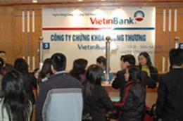 Quý 1, lợi nhuận trước thuế của VietinBankSc đạt 9 tỷ đồng, lãi cơ bản trên mỗi cổ phiếu đạt 88 đồng.