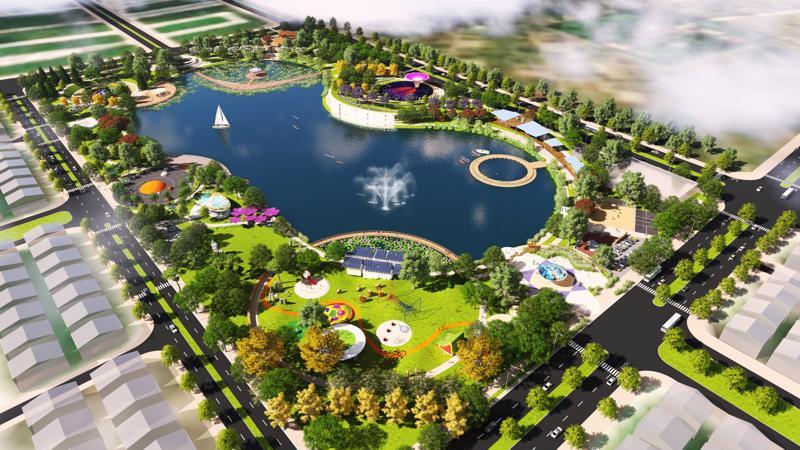 """Công viên Thiên văn học trong Khu đô thị Dương Nội - nơi diễn ra sự kiện """"Bữa tiệc ánh sáng mưa sao băng"""".<br>"""
