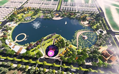 Công viên Thiên văn học tại Khu đô thị Dương Nội được Tập đoàn Nam Cường xây dựng trong hai giai đoạn.