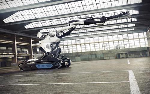 Robot xây nhà bằng công nghệ in 3D của Cazza - Ảnh: Cazza.<br>
