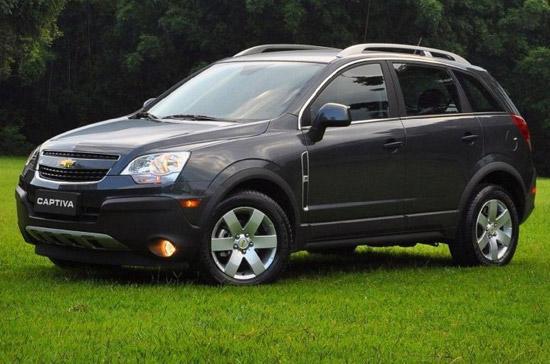 Một chiếc Chevrolet Captiva 2012 nằm trong diện triệu hồi - Ảnh: Autopartcar.