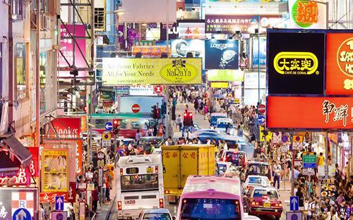 Công ty mọc lên như nấm khiến quang cảnh đô thị Trung Quốc thay đổi rõ rệt sau mỗi ba tháng - Ảnh: Business Insider.