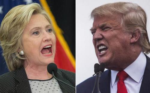 Số liệu từ Crowdpac, một tổ chức độc lập chuyên phân tích dữ liệu bầu cử Mỹ, cho thấy tính đến ngày 30/6/2016, ông Trump và bà Clinton nhận được tổng cộng 3,5 triệu USD từ Silicon Valley - Ảnh: Global Research.<br>