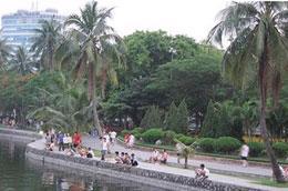 Thành phố Hà Nội chỉ có 4 công viên lớn.
