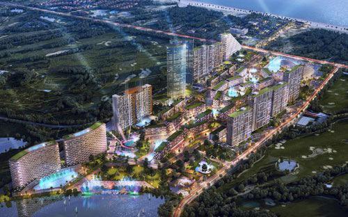 Phối cảnh dự án Cocobay Đà Nẵng.<br>