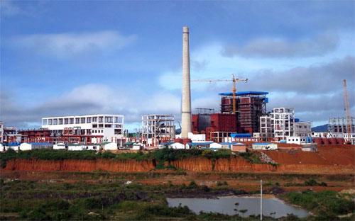 Nhà máy alumin Nhân Cơ.