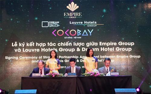 Louvre Hotels Group sẽ tiếp tục vận hành thương hiệu Golden Tulip trong  chuỗi Boutique Hotel thuộc tổ hợp du lịch và giải trí Cocobay Đà Nẵng.