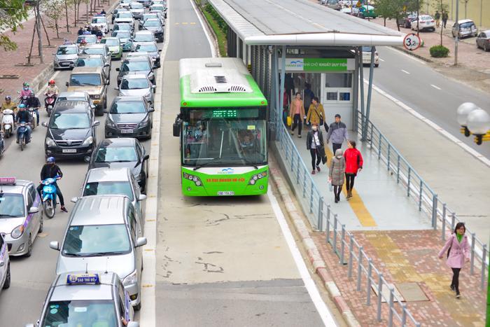 Tuyến BRT đầu tiên của Hà Nội đã chính thức hoạt động được hơn 2 tháng.
