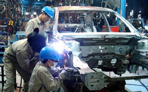 Tỷ lệ nội địa hoá rất khiêm tốn của công nghiệp ôtô Việt.