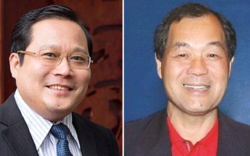 Ông Phan Huy Khang và ông Trầm Bê.