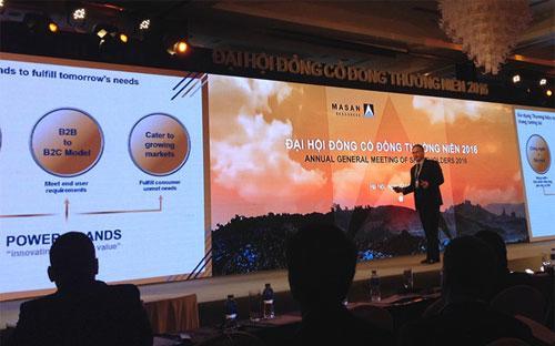 Masan Resources trình bày triển vọng thị trường và cơ hội của công ty năm 2016.<br>