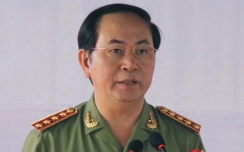Đại tướng Trần Đại Quang, Bộ trưởng Bộ Công an.