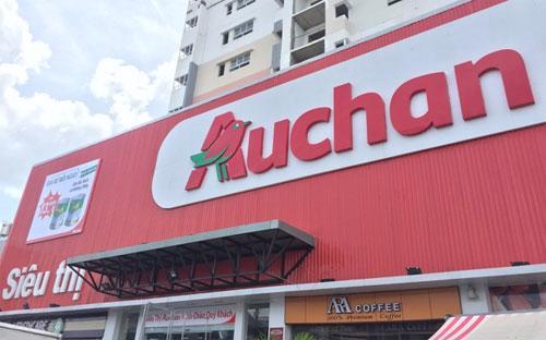 Một điểm bán lẻ của Auchan.