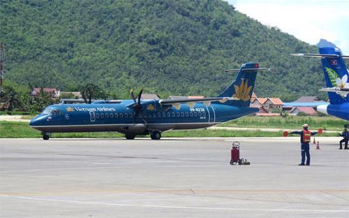 ATR 72 là loại máy bay nhỏ, sức chở tối đa 74 người, thường được sử dụng cho các chặng bay ngắn nội địa.