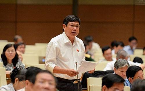 Đại biểu Lê Nam (Thanh Hóa) đã từng lên tiếng phê tình trạng chi tiêu công lãng phí, trong đó có việc xây những công trình công cộng hoành tráng, tốn kém.