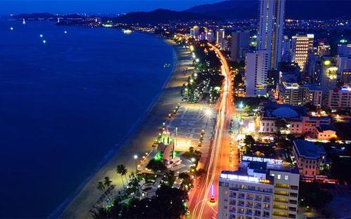 Một góc thành phố Nha Trang.<br>